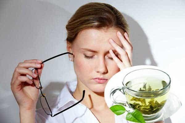 Trà xanh giúp giảm stress