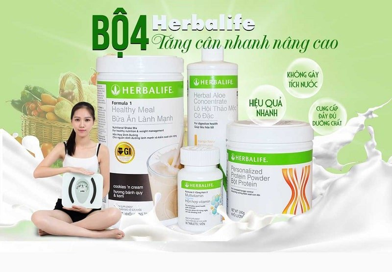 Sữa tăng cân herbalife