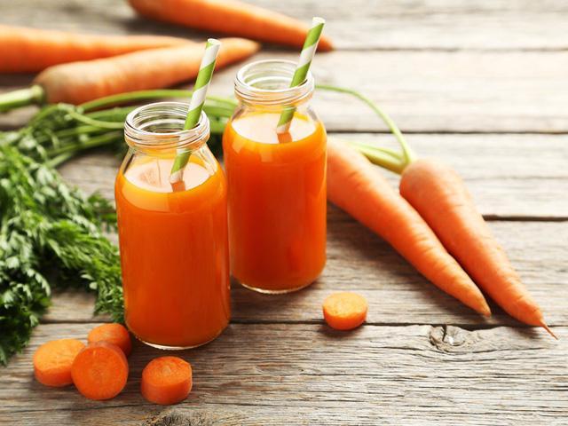 nước ép cà rốt tốt cho bà bầu