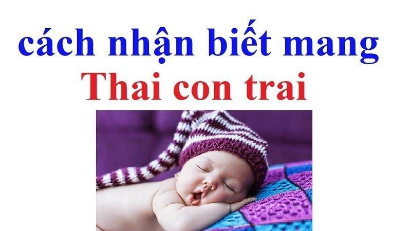 【Bạn Nên Biết】dấu hiệu chắc chắn mang thai bé trai chuẩn đến 99%