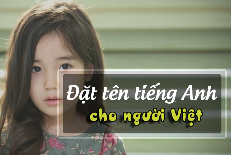 dat ten tieng anh cho con