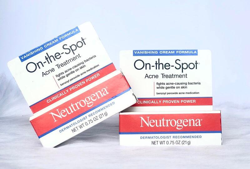 Kem Trị Mụn Neutrogena Có Tốt Không – Có Đáng Tin Dùng Không