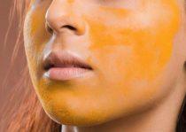 Mặt nạ Saffron gỗ đàn hương