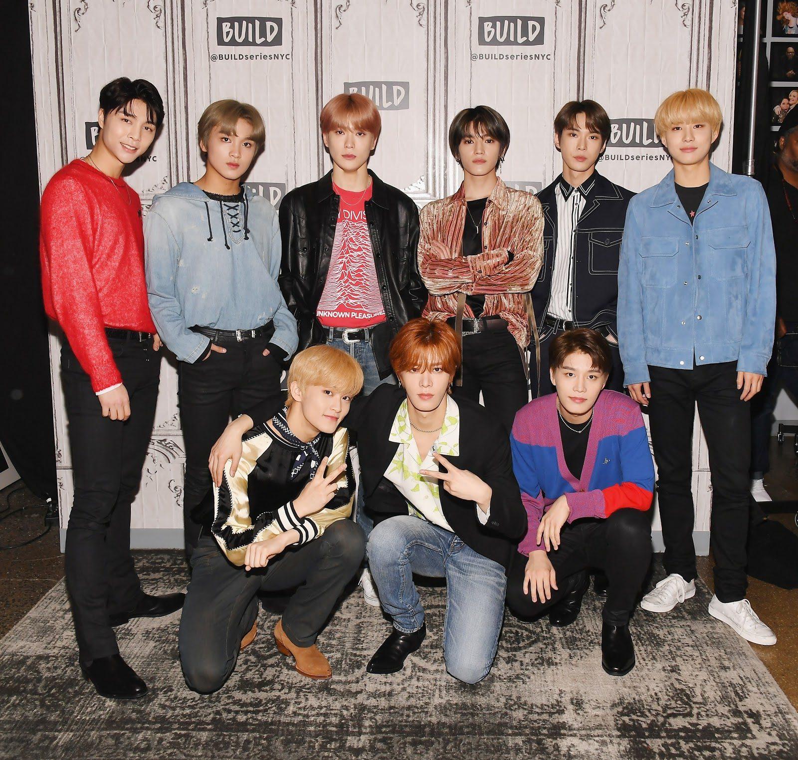 Những thành viên của nhóm nhỏ NCT 127
