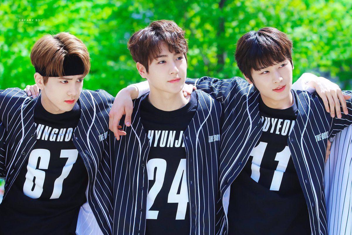 Ba thành viên đẹp trai nhất của The Boyz