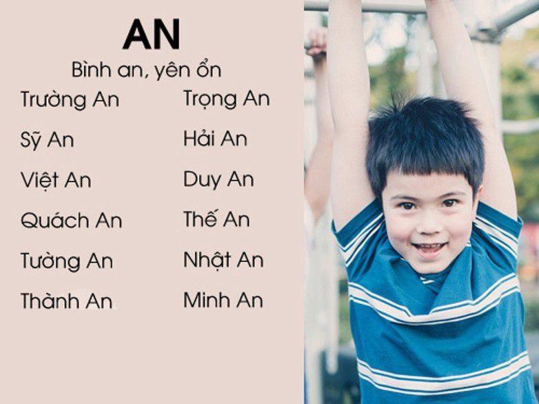 Hãy chọn cho con một cái tên đầy ý nghĩa