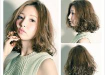 Kiểu tóc dài xoăn rối