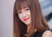 Tóc ngang lưng đẹp Hàn Quốc