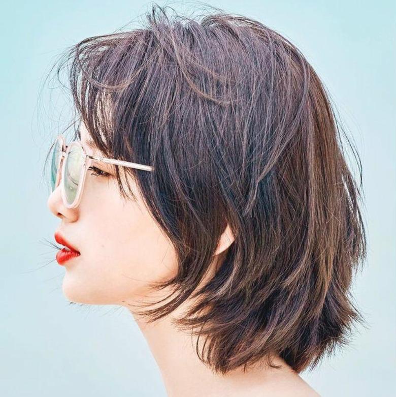 Tóc ngắn cho mặt tròn trung niên