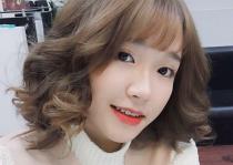 Tóc ngắn cho mặt dài dễ thương