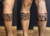 chân xăm Maori