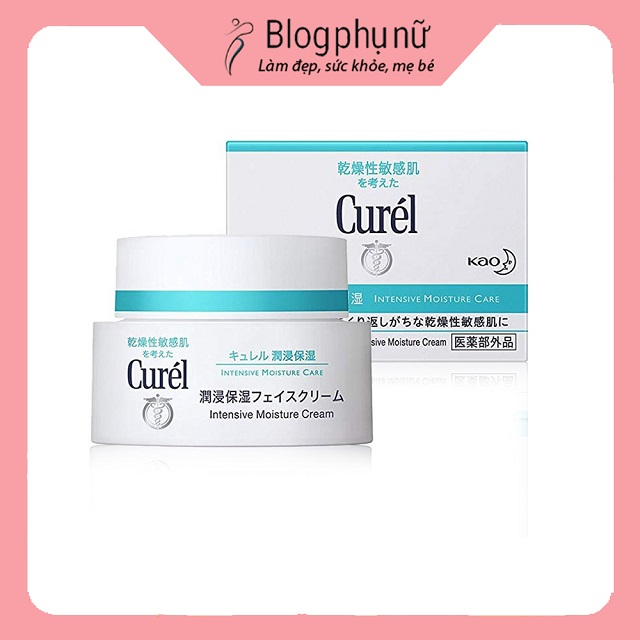 Kem dưỡng ẩm chống lão hóa của Nhật Curel Kao Intensive Moisture Cream