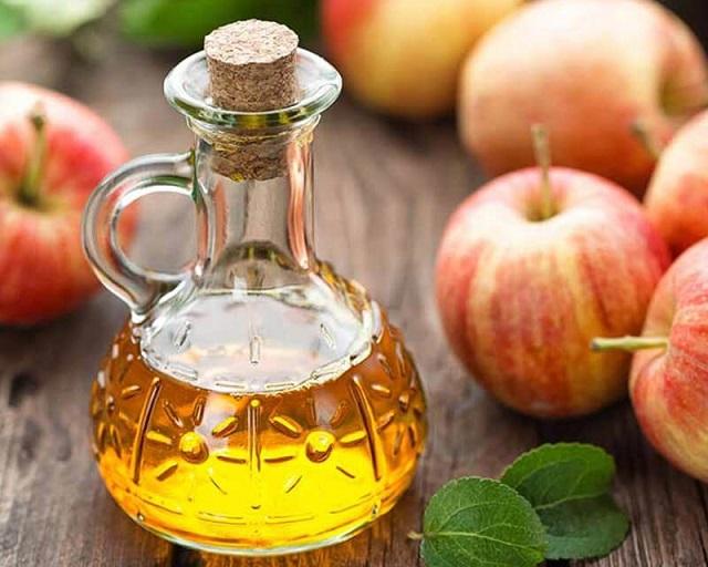 Cách rửa mặt bằng giấm táo