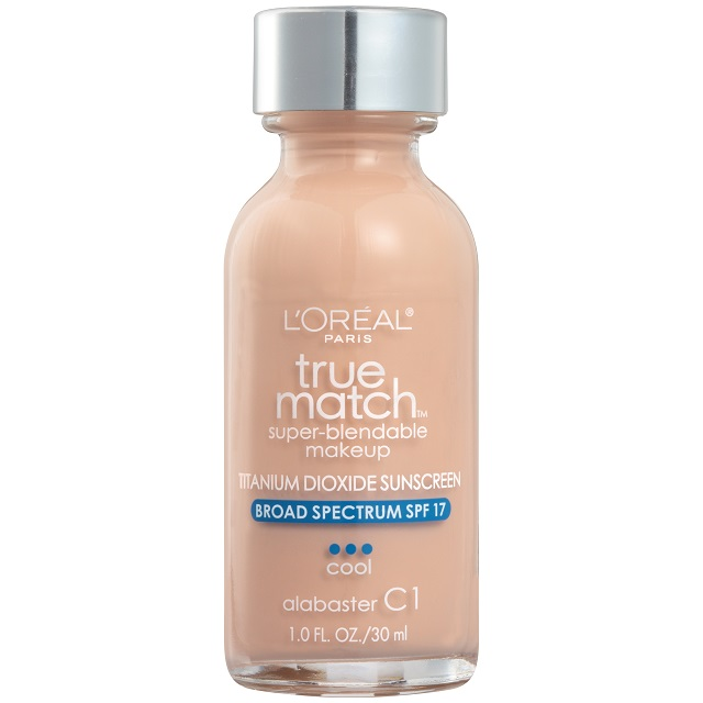 Kem nền cho da dầu L'Oreal Paris Makeup True Match Super-Blendable Liquid Foundation