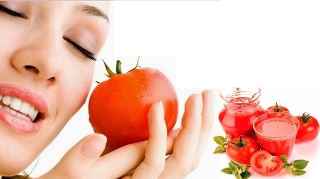 Mặt nạ cà chua kiềm dầu