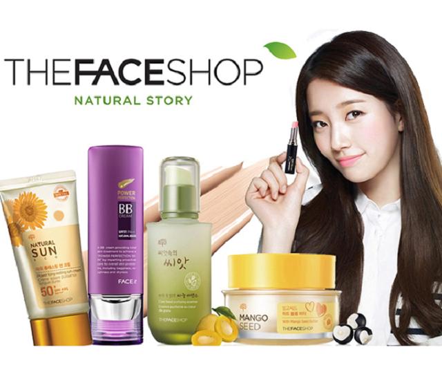 Thương hiệu mỹ phẩm nổi tiếng Hàn Quốc The Face Shop