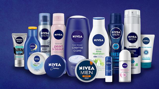 Thương hiệu mỹ phẩm nổi tiếng hàng đầu thế giới Nivea